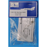 Canopy for DH Sea Vixen FAW.2, for Airfix kit