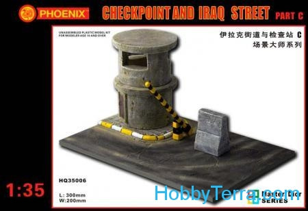 For dioramas. Checkpoint and Iraq street, part C