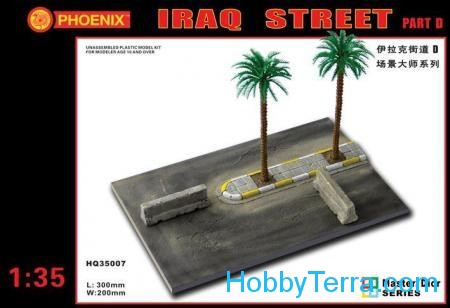 For dioramas. Iraq street, part D