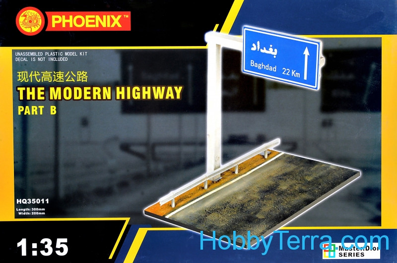 Phoenix  35011 For dioramas. The modern highway, part B