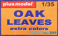 Oak leaves (extra colours)
