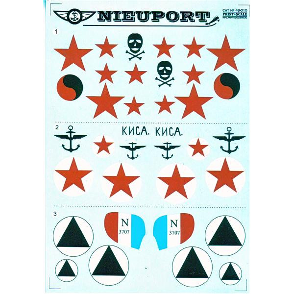 Decal for Nieuport Part 1
