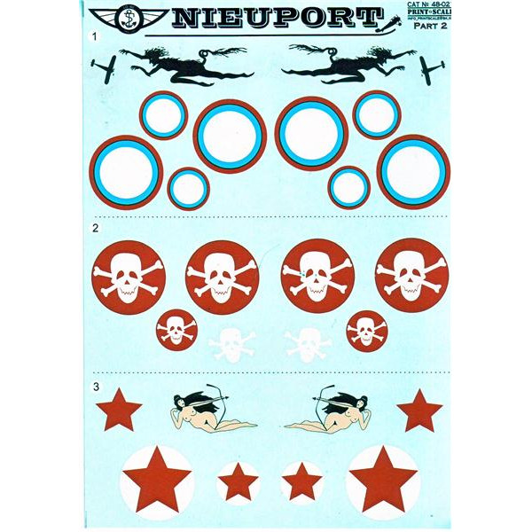 Decal for jet fighter Nieuport Part 2