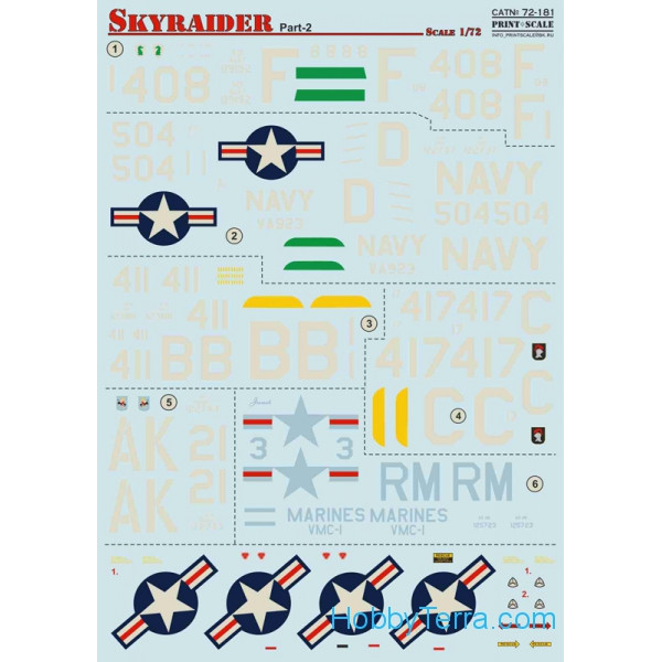 Decal for A-1 Skyraider, Part 2