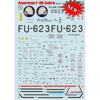 Decal 1/32 for F-86 Sabre, part 1