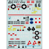 Decal 1/35 for Bell UH-1 Huey