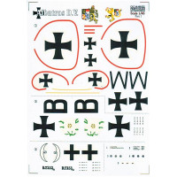 Decal for Albatros D.V, Part 1