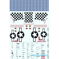 Decal 1/48 for P-51-D Mustang