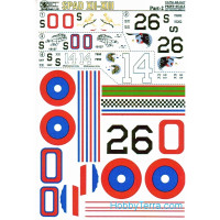 Decal 1/48 for fighter Spad XII-XIII, Part 2