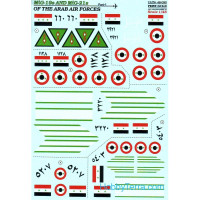 Decal for MiG-19s and MiG-21s of the Arab Air Force, Part 1