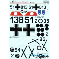 Decal for Heinkel Не-51, Part 1