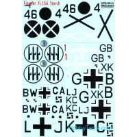 Decal 1/48 for Fieseler Fi.156 Storch
