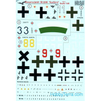 Decal 1/48 for Bf.109K Kurfurst, Part 1