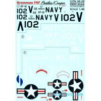 Decal 1/48 for Grumman F9F Panther, Part 1