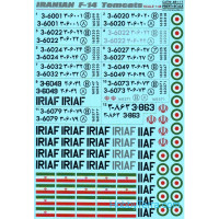 Decal 1/48 for Iranian F-14 Tomcats