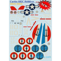 Wet decal for Curtiss SB2C Helldiver
