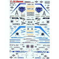 Decal 1/72 for F-18 Hornet Lancers, Part 3