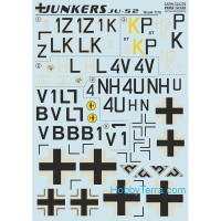Decal for Junkers Ju-52