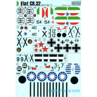 Decal 1/72 for Fiat CR.32