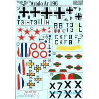 Decal 1/72 for Arado Ar 196