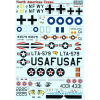 Decal for North American T-6 Texan
