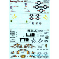 Decal for Boeing-Vertol 107, Part 2
