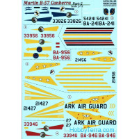 Decal 1/72 for B-57 Canberra, Part 2