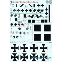Decal 1/72 for Fokker Eindecker Aces
