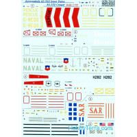 Decal 1/72 for AS.332 Super Puma, AS.532 Cougar