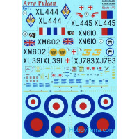 Decal 1/72 for Avro Vulcan, Part 2