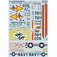 Decal 1/72 for US Navy F-4 Phantom IIs, Part 2