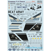 Decal 1/72 for F-14 Tomcat, Part 1