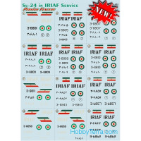Decal 1/72 for Su-24 in IRIAF Service