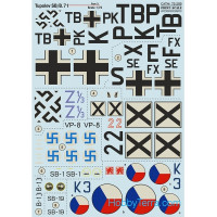 Decal 1/72 for Tupolev SB/B.71, Part 3