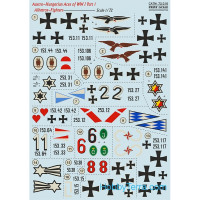 "Decal 1/72 for Albatros D.III ""Austro-Hungarian Aces"", part 1"