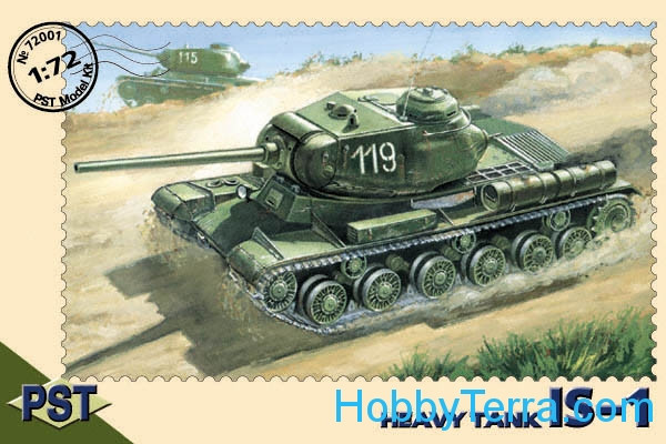 IS-1 WWII Soviet heavy tank