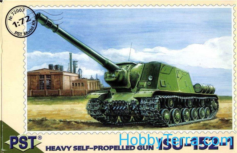 ISU-152-1 WWII Soviet self-propelled gun