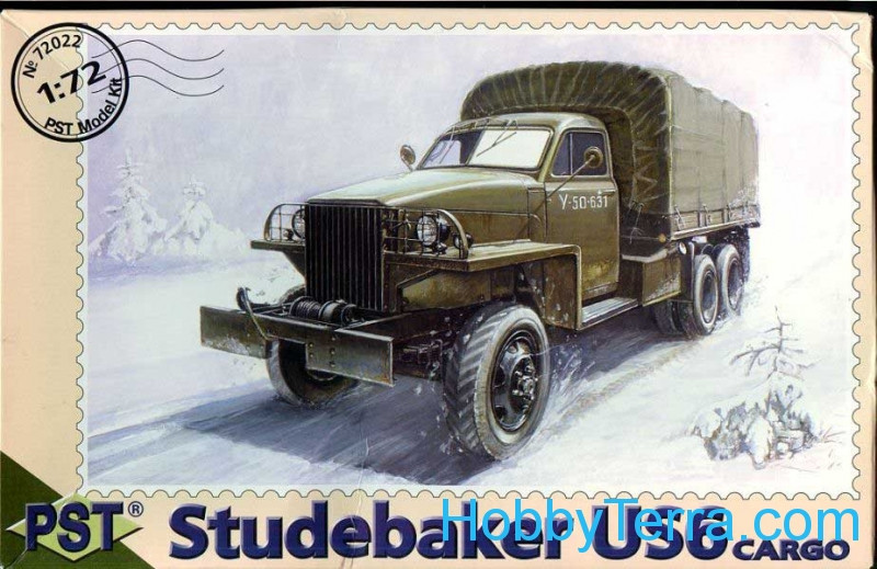 PST  72022 Studebaker US6 WWII US cargo truck