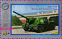 ISU-122 WWII Soviet self-propelled gun
