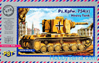 Pz.Kpfw.754 (r) WWII German heavy tank