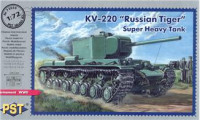 "KV-220 ""Russian tiger"" super heavy tank"