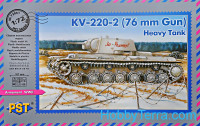 KV-220-2 76mm gun Soviet heavy tank