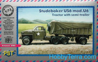 Studebaker US6 mod.U6 truck with semi-trailer