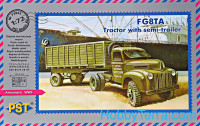 Ford G8TA tractor with semitrailer