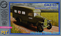 GAZ-55 ambulance, 1943