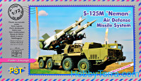 "S-125M ""Neman"" air defense missile system"