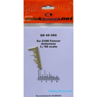 Su-24M Fencer antennas, for Trumpeter kit