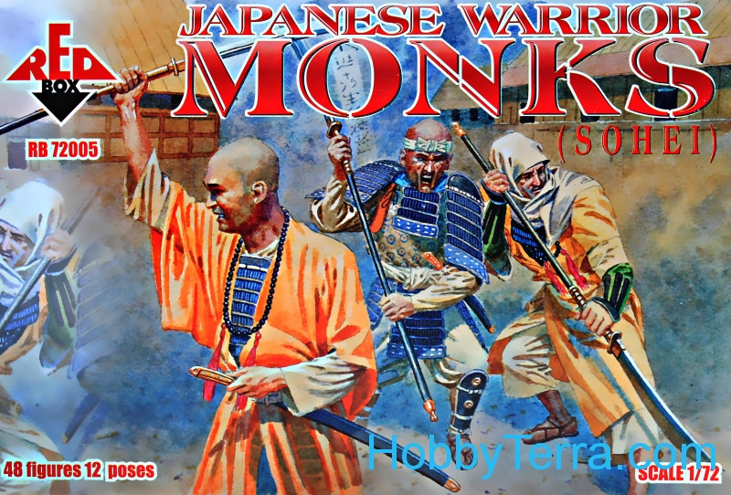 Red Box  72005 Japanese Warrior Monks (Sohei)