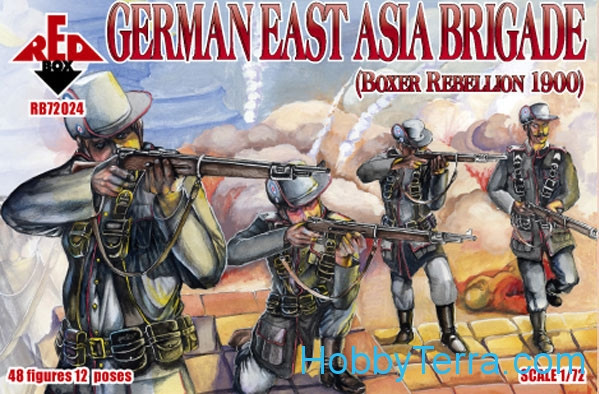 Red Box  72024 German East Asia brigade, Boxer Rebellion 1900