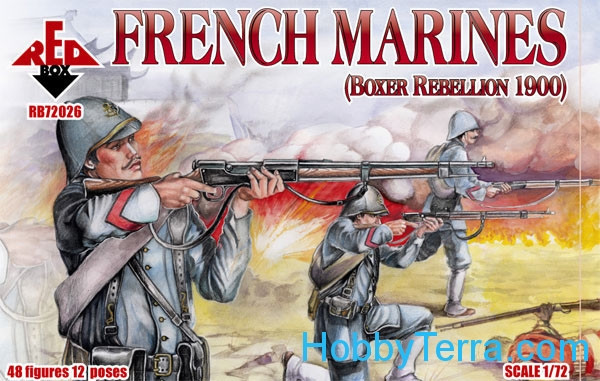 French marines, Boxer Rebellion 1900